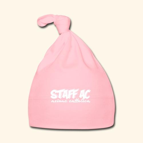 staff ac bianco - Cappellino neonato