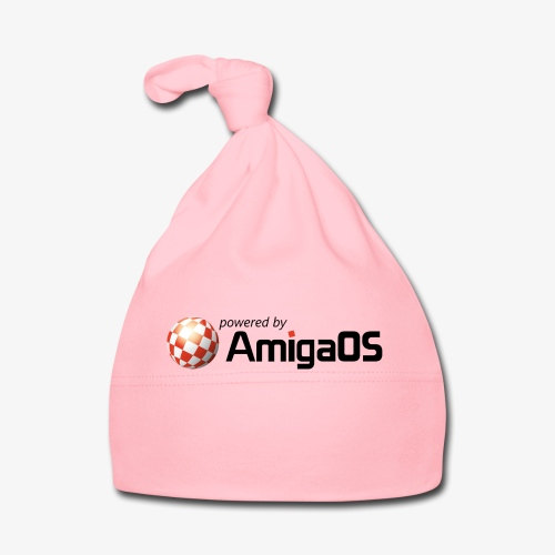 PoweredByAmigaOS Black - Baby Cap