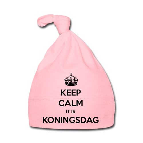 KEEP CALM IT IS KONINGSDAG - Muts voor baby's