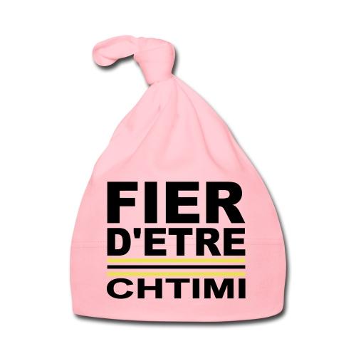 Fier D ETRE Chtimi Noir - Bonnet Bébé
