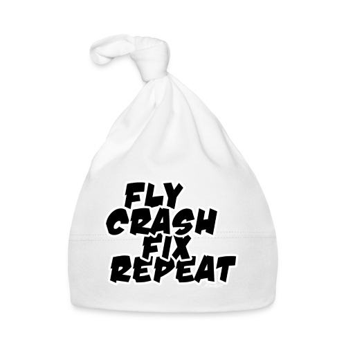 FlyCrashFixRepeat signed - Baby Cap