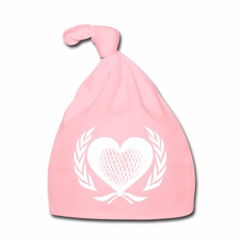 Herz Kranz Gitter Netz Logo Emblem Geschenkidee - Baby Mütze