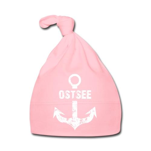 Fashionbutze Anker Ostsee weiss - Baby Mütze
