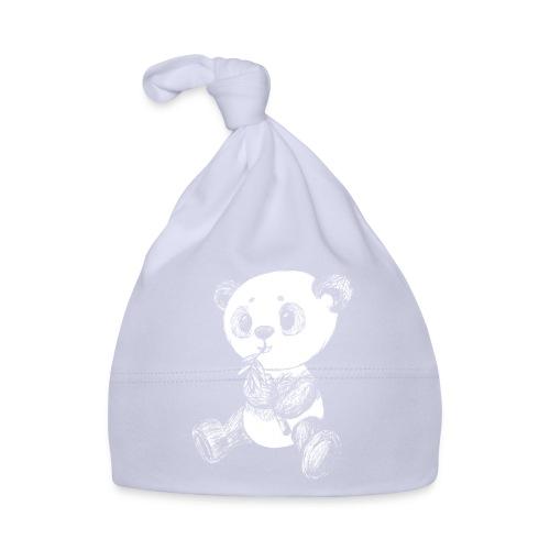 Panda bear white scribblesirii - Baby Cap