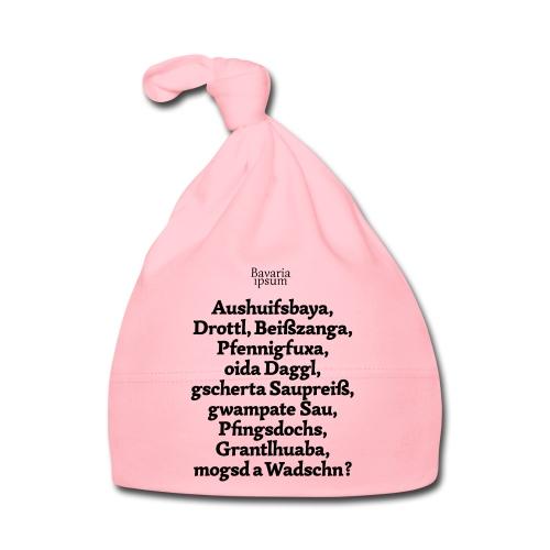 Bayrische Schimpfwörter Nr.1 - Baby Mütze