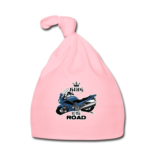 0885 FJR KING of the ROAD (blauw) - Muts voor baby's