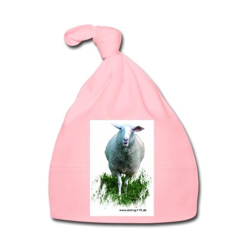 Gemaltes Entrup Schaf - Baby Mütze
