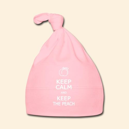 Teddy Keep calm and Keep The Peach - Bonnet Bébé