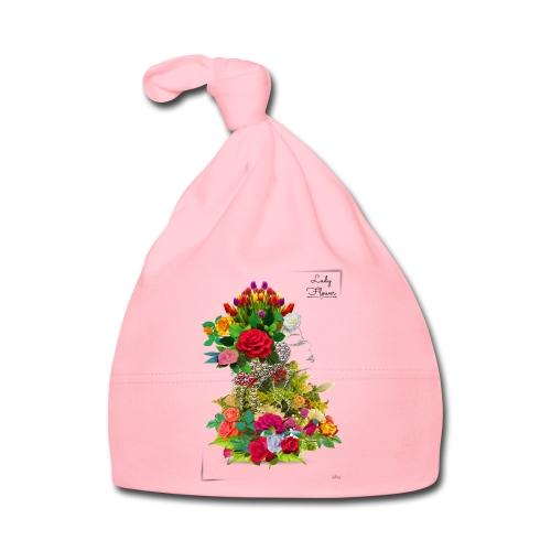 Lady flower -by- T-shirt chic et choc - Bonnet Bébé
