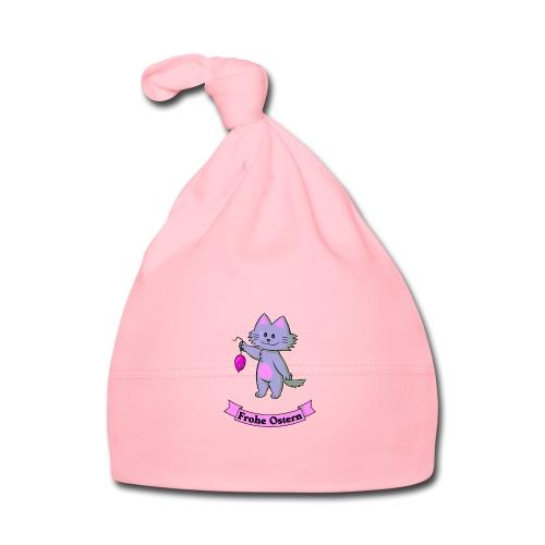 Frohe Ostern - Katze mit Maus - Baby Mütze