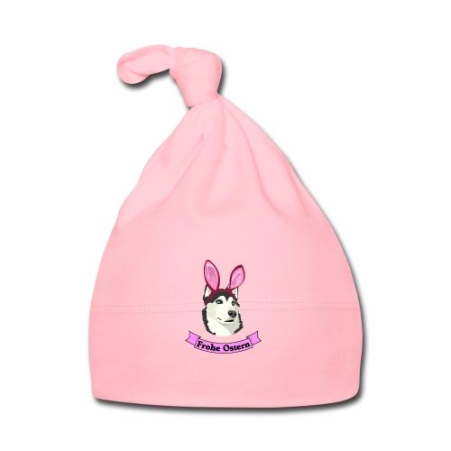 Frohe Ostern - Husky - Baby Mütze