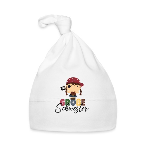 Große Schwester Piraten - Baby Mütze