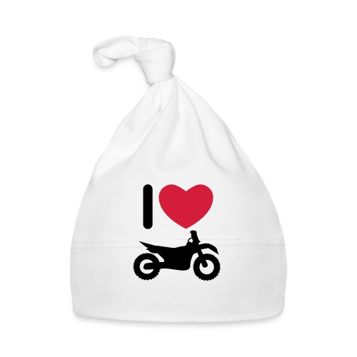 I love biking - Baby Mütze