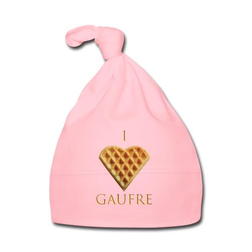 i love gaufre - Bonnet Bébé