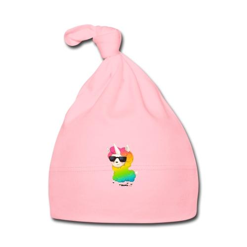 Regenbogenanimation - Baby Mütze