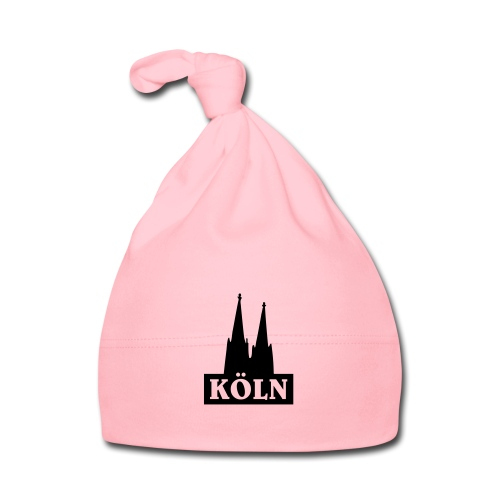 Köln Logo mit dem Kölner Dom - Baby Mütze