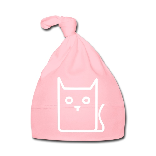 Katze Weiß - Baby Mütze
