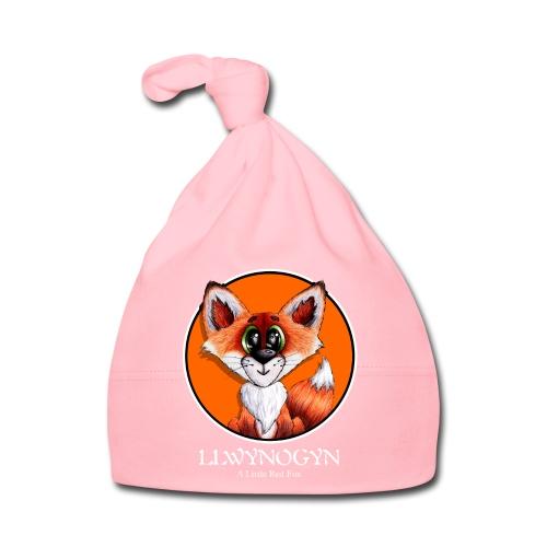 llwynogyn - a little red fox (white) - Babyhue