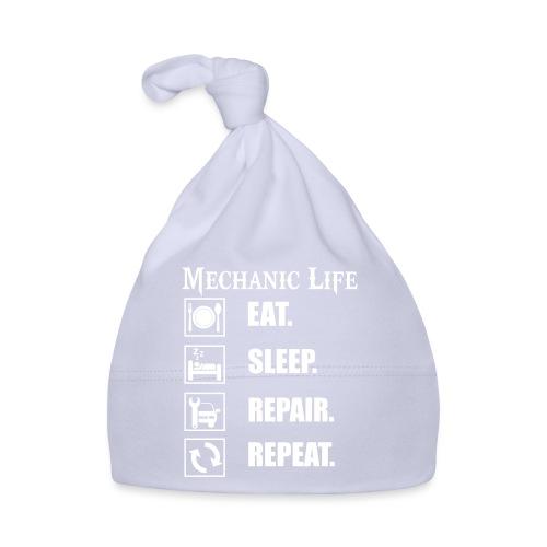 Das Leben als Mechaniker ist hart! Witziges Design - Baby Mütze