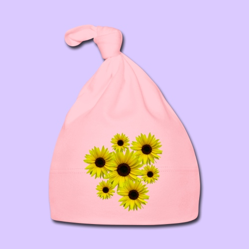 Sonnenblumenstrauß, Sonnenblumen, Blumen, Blüten - Baby Mütze