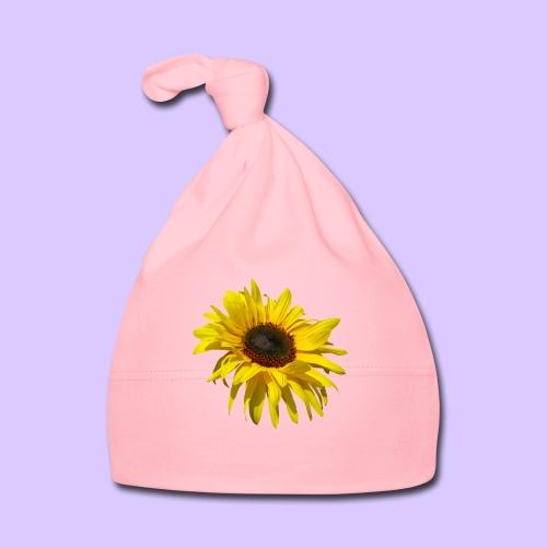 blühende Sonnenblume, Sonnenblumen, Blumen, Blüten - Baby Mütze
