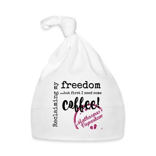 Kahvimuki Matkaopas Vapauteen, pun - Vauvan myssy