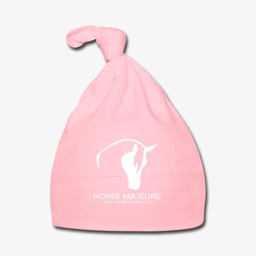 Horse Majeure Logo / Valkoinen - Vauvan myssy