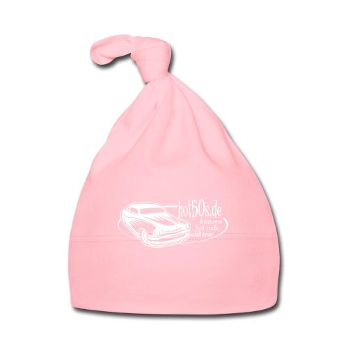 hot50s Logo weiss - Baby Mütze