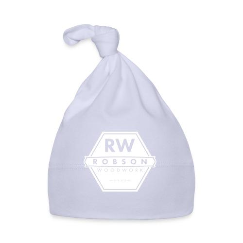 RW Logo In White - Baby Cap
