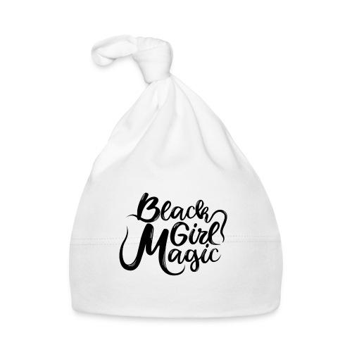 Black Girl Magic 1 Black Text - Baby Cap