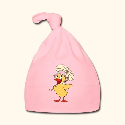 Schnatterinchen mit Schirm - Baby Mütze