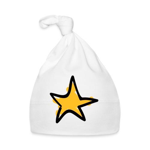 Star Line Drawing Pixellamb - Baby Mütze