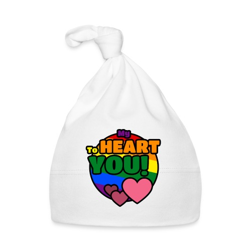 My Heart To You! T-shirts and clothes with love. - Baby Cap