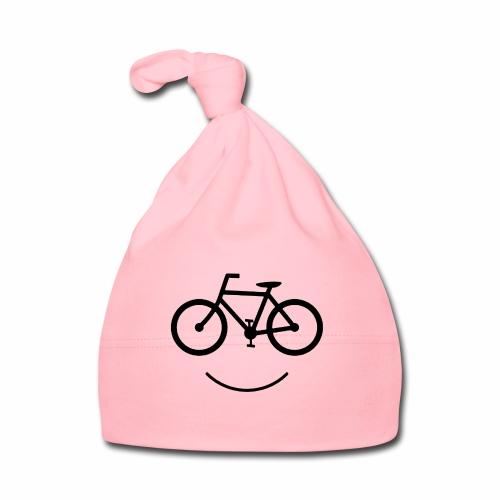 Black Design Love Cycling - Baby Mütze