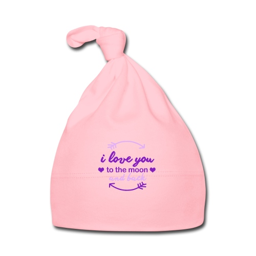 i lo ve you to the moon and back - Gorro bebé