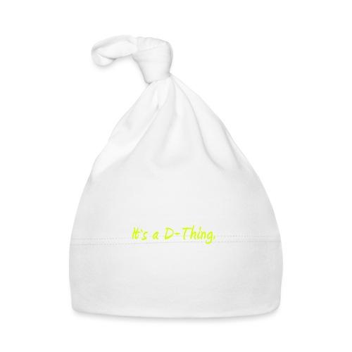 DTWear - It`s a D-Thing - Yellow / Geel - Muts voor baby's