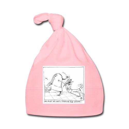 dzwon - Czapeczka niemowlęca