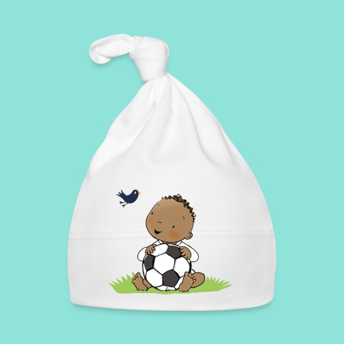 Cute Boy with ball - Muts voor baby's