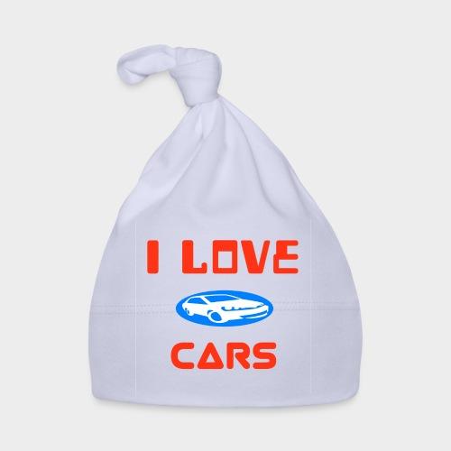 I Love cars - Baby Cap