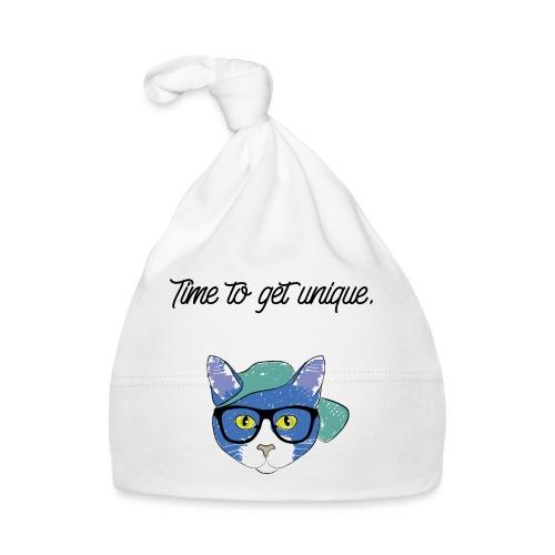 Cat Hipster Nerd Cool Geek - Baby Mütze