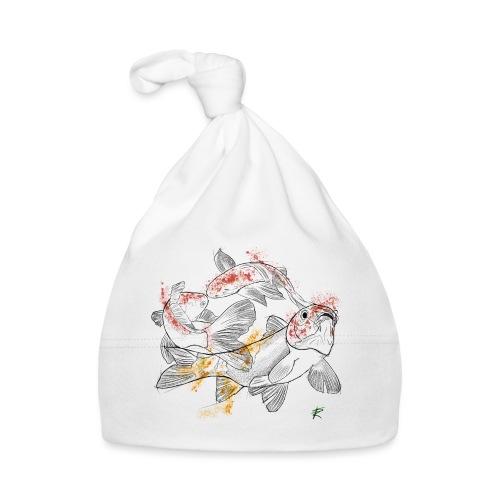 Carpa koi color - Cappellino neonato
