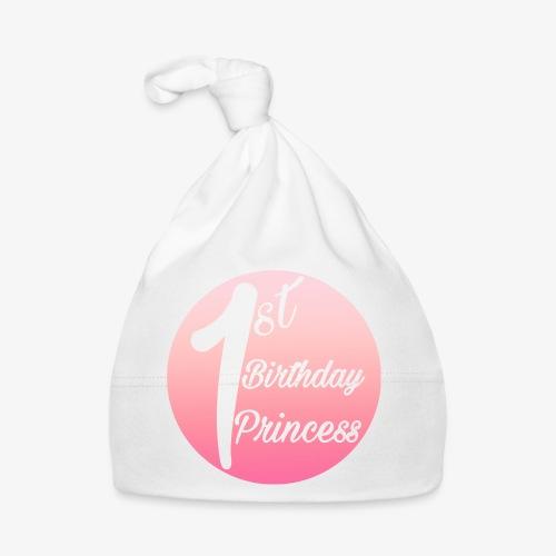 1st birthday princess - Cappellino neonato