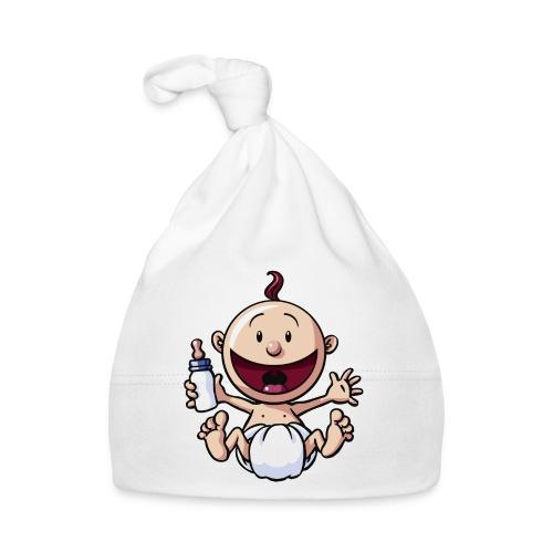 Das Baby lacht. - Baby Mütze