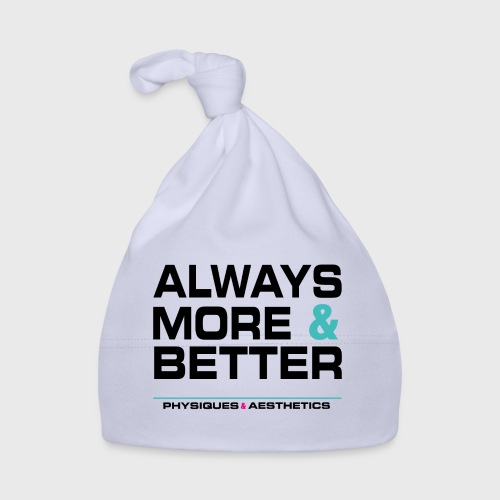ALWAYS MORE AND BETTER - Gorro bebé