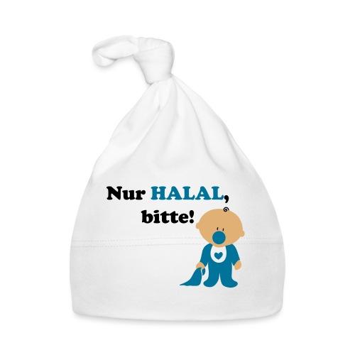 Nur Halal, bitte! Babylätzchen (männlich) - Baby Mütze