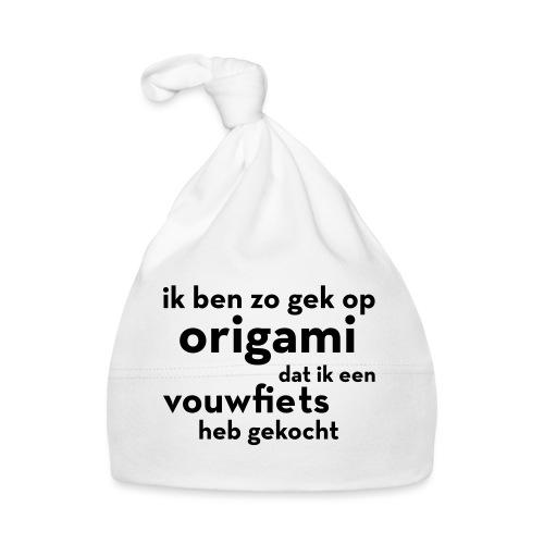 Origami - Vouwfiets - Muts voor baby's