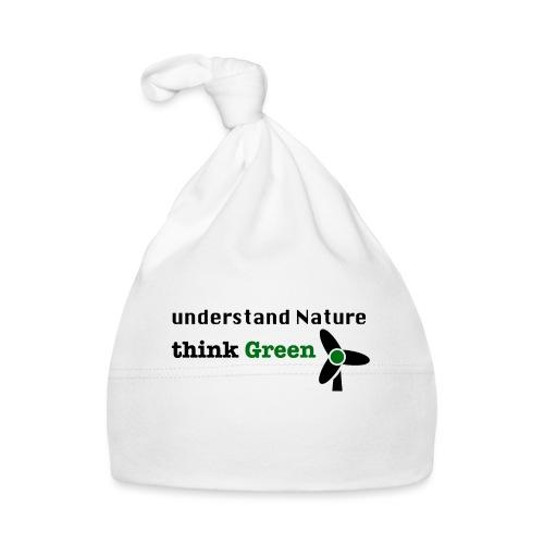Understand Nature. Think Green! - Baby Cap