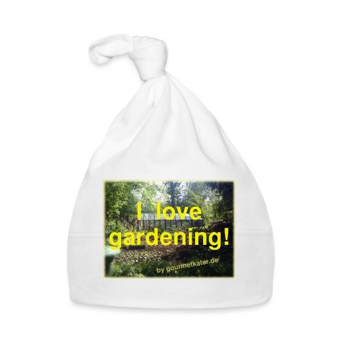 I love gardening - Garten - Baby Mütze