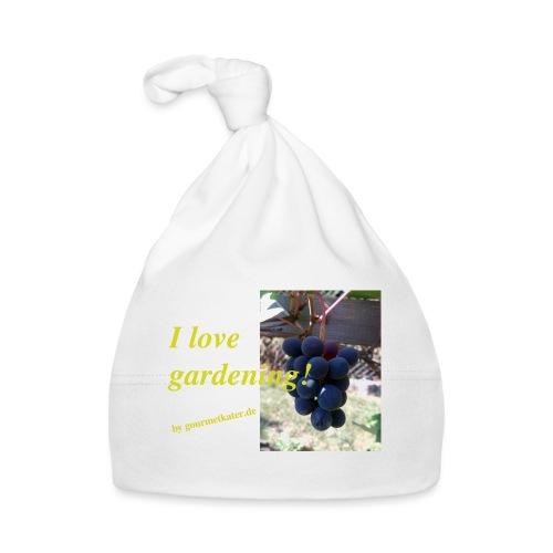 Weintraube - I love gardening - Baby Mütze