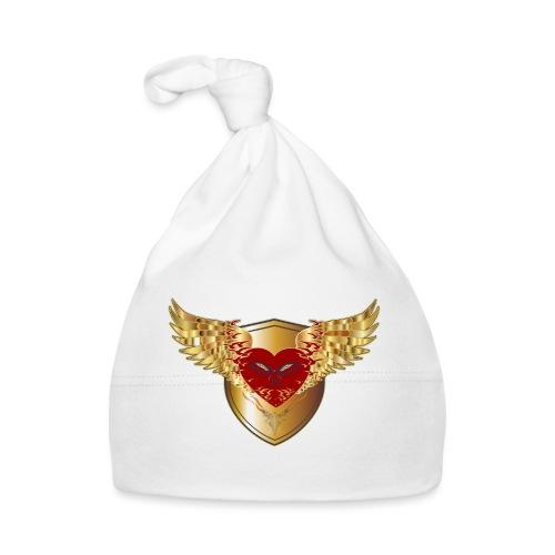 Falkner Schild Greifvogel Liebe Herz Adler Flügel - Baby Mütze